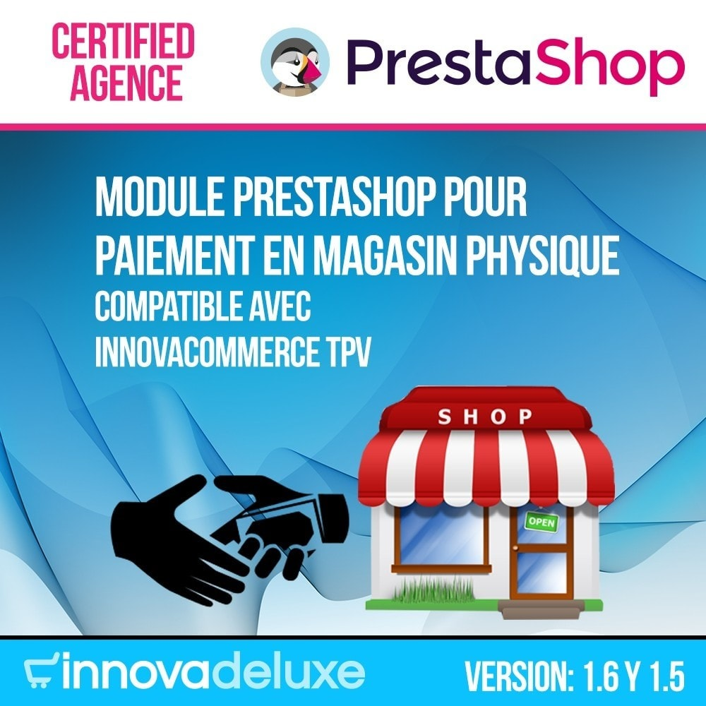 module - Paiement en Magasin - Paiement en magasin physique (commission optionnelle) - 1