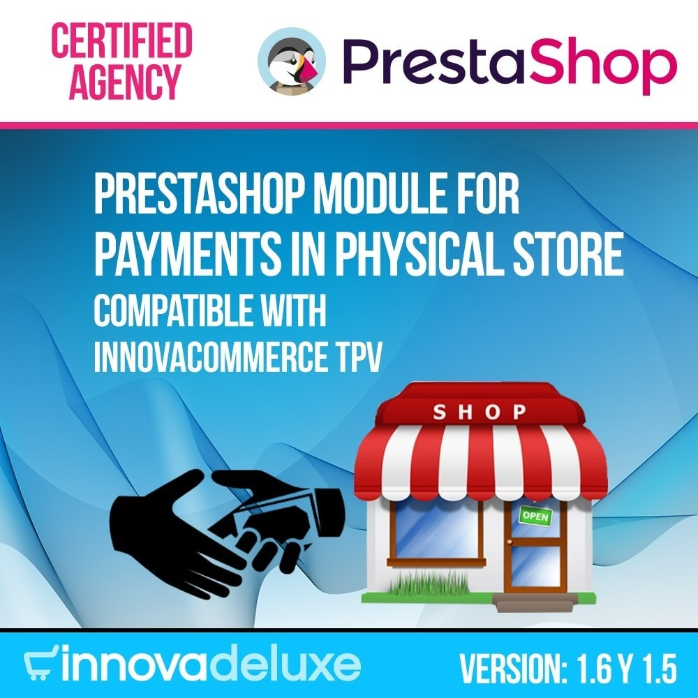 module - Payment in Physical Stores - Payments in store (with optional commission) - 1