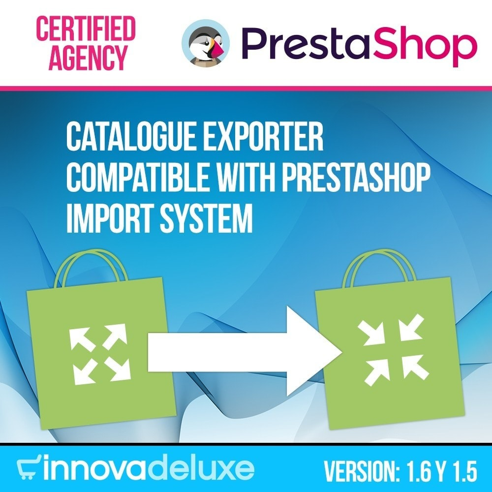 module - Data Import & Export - Catalogue exporter for official importer - 1