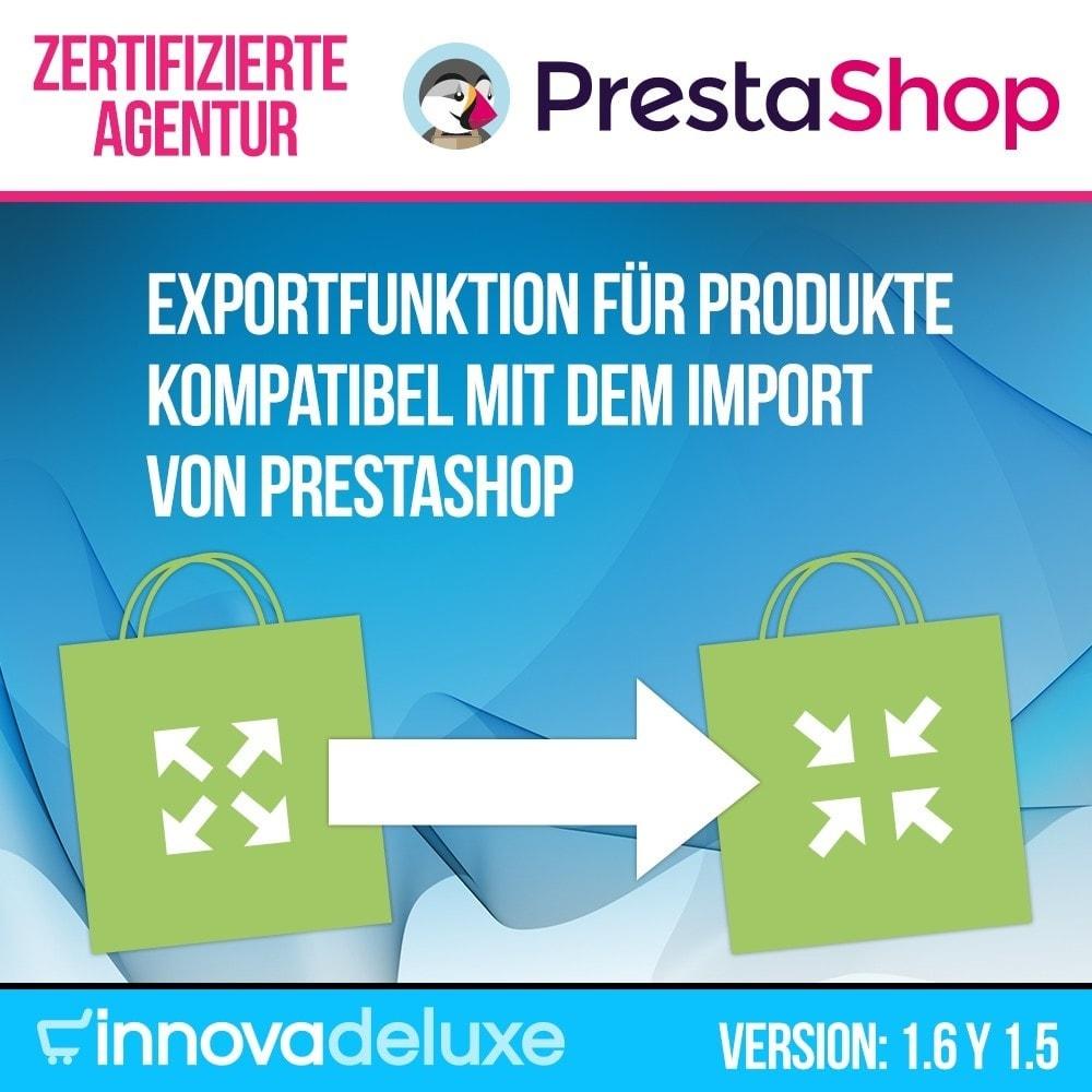 module - Daten Im-&Export - Katalogexporteur für Prestashop Importeur - 1