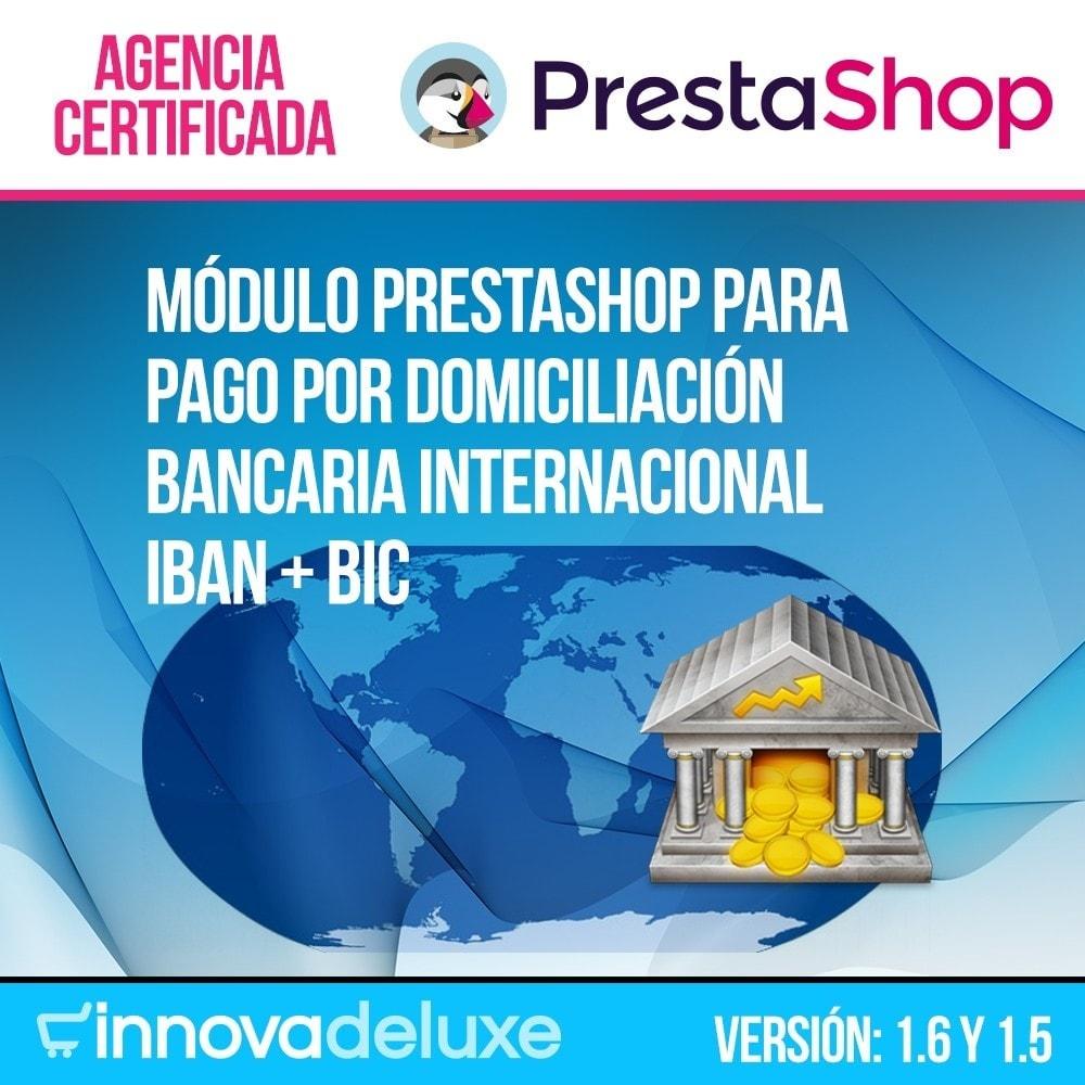 module - Pago por Transferencia - Pago por Domiciliación Bancaria Internacional (BIC) - 1
