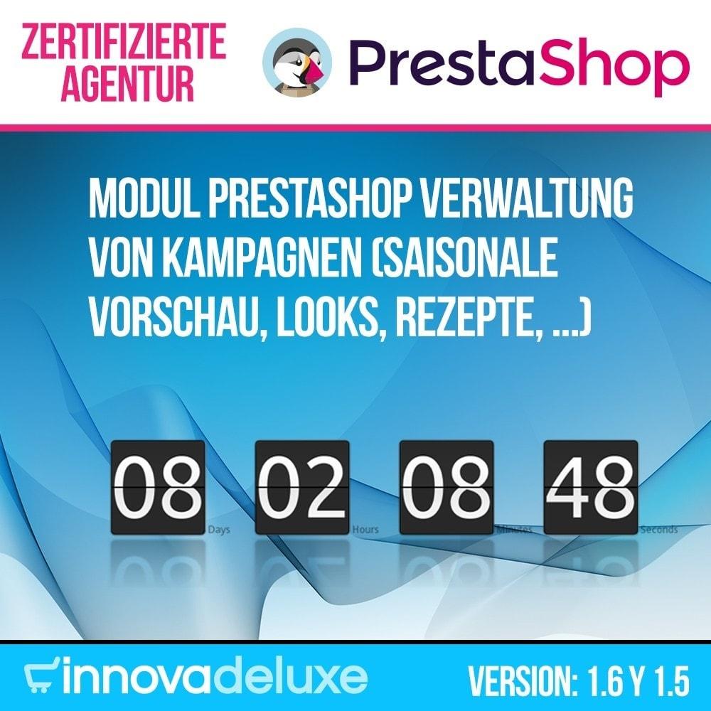 module - Promotion & Geschenke - Verwaltung von Kampagnen (Saisonale Vorschau, Looks) - 1