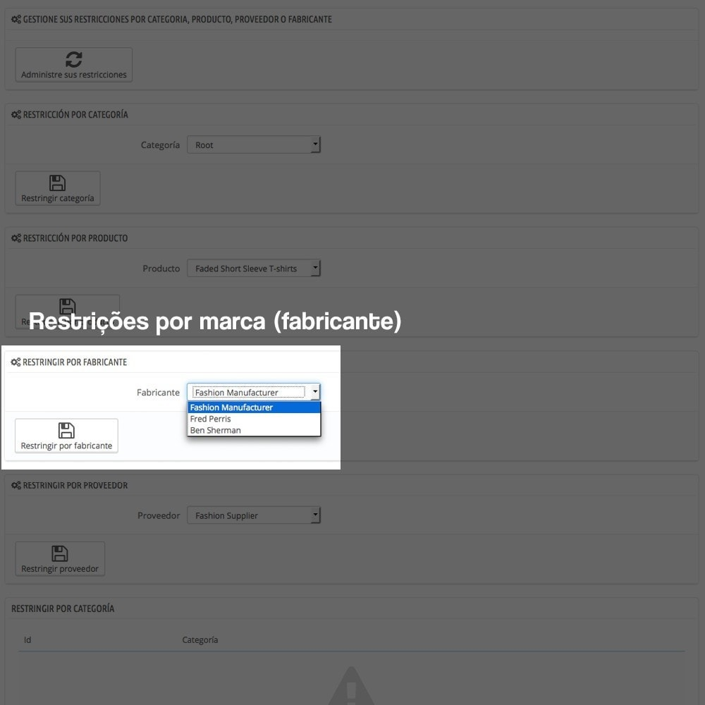 module - Pagamento em dinheiro na entrega - COD - Cashdelivery with fee (ranks and restrictions) - 12