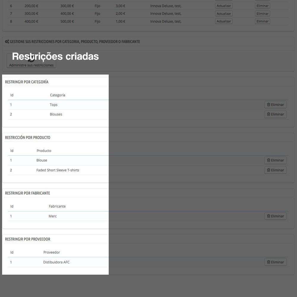 module - Pagamento em dinheiro na entrega - Contra-reembolso com sobretaxa (intervalos/restrições) - 14