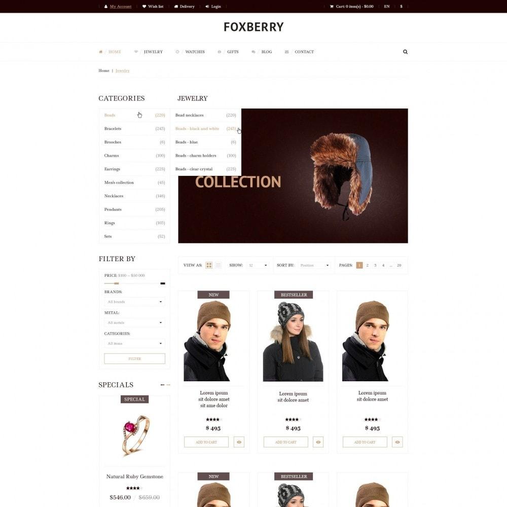 theme - Mode & Chaussures - Foxberry - Chapeaux de Magasin - 4