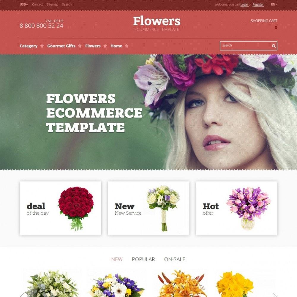 theme - Cadeaux, Fleurs et Fêtes - Floweris - Fleurs Boutique - 2