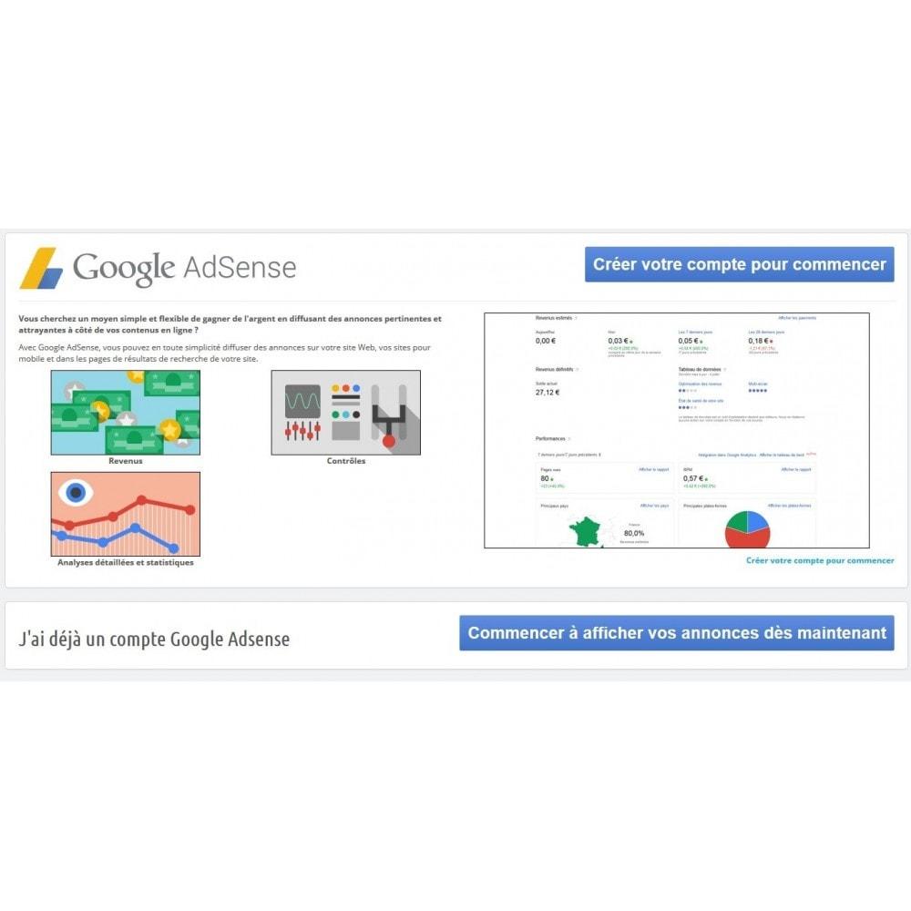module - SEA SEM (paid advertising) & Affiliation Platforms - Google Adsense Ads - 1