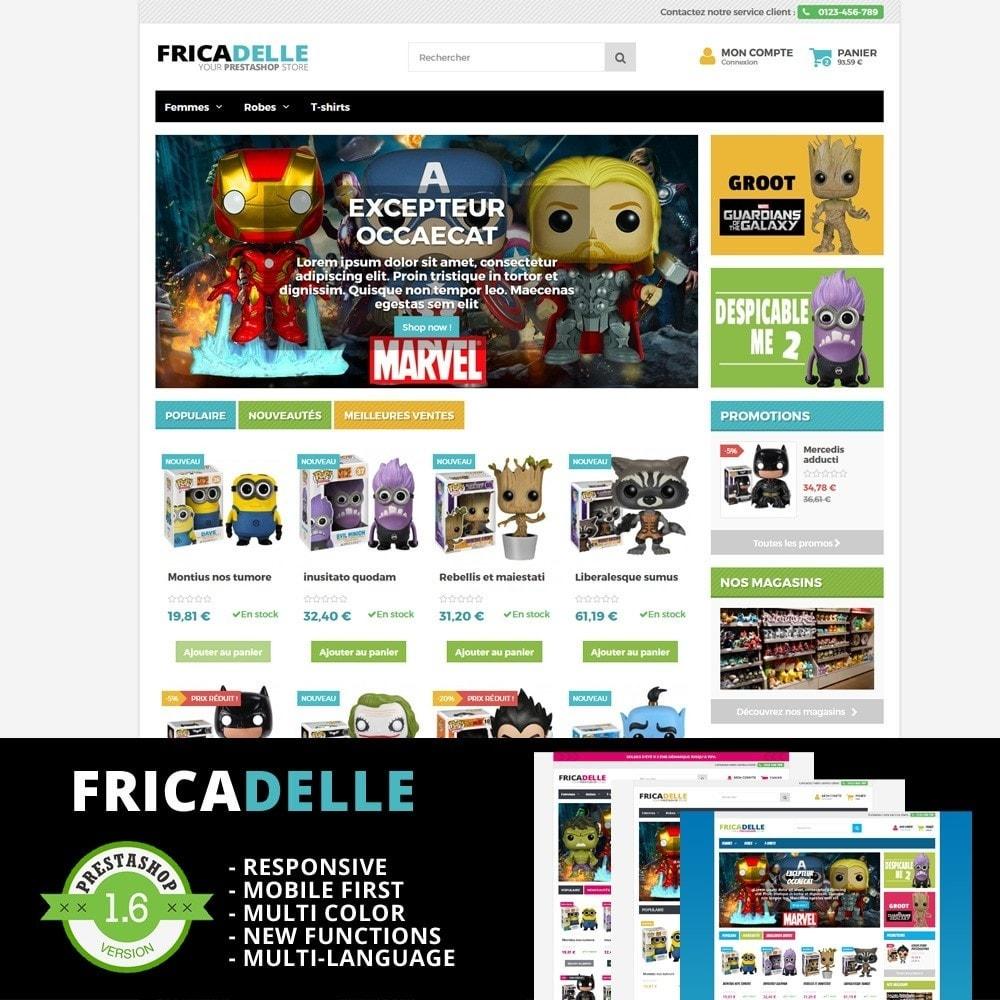 theme - Kids & Toys - Fricadelle Responsive - 1