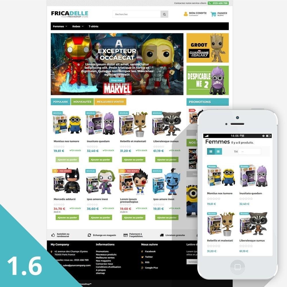 theme - Kids & Toys - Fricadelle Responsive - 2