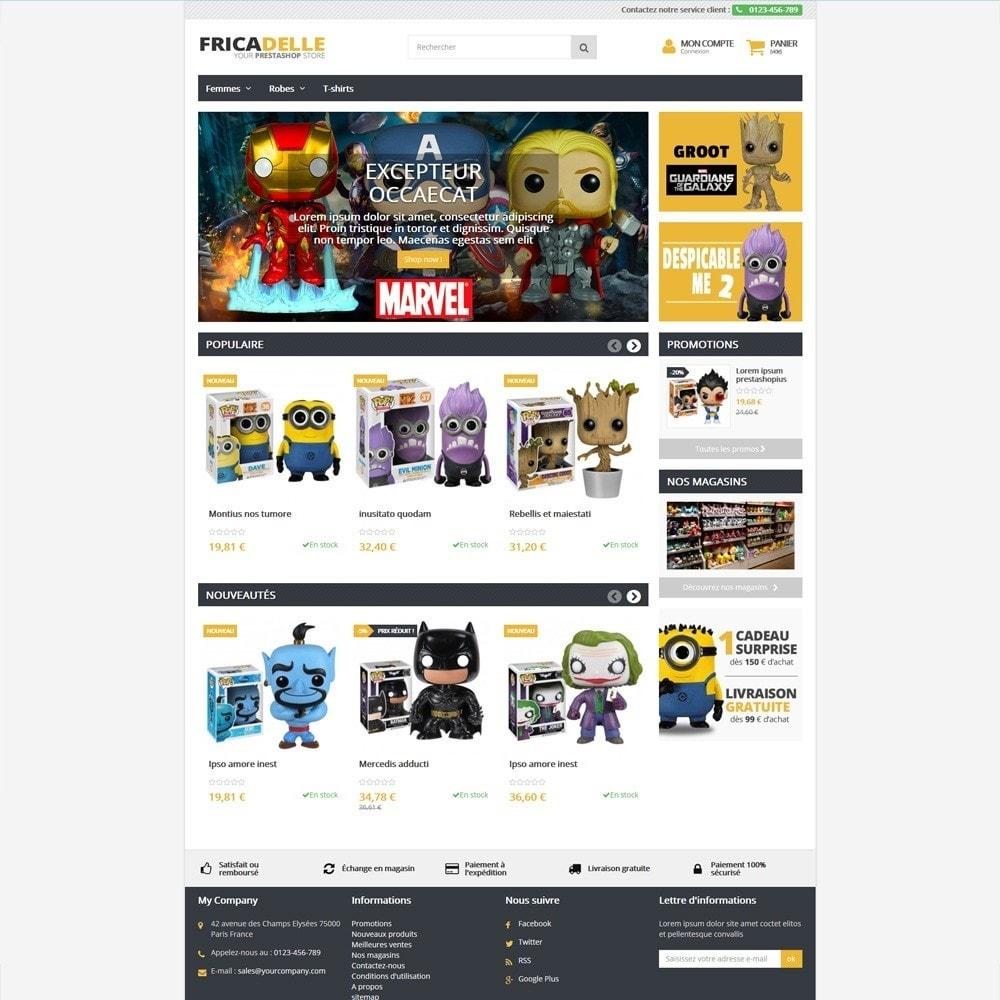 theme - Zabawki & Artykuły dziecięce - Fricadelle Responsive - 5