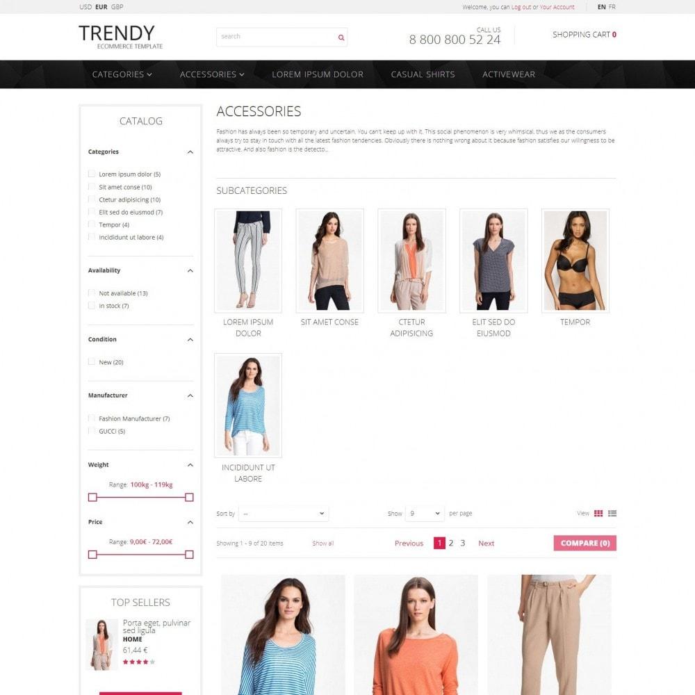 theme - Moda y Calzado - Trendy - Tienda de Moda de Ropa Sale - 3