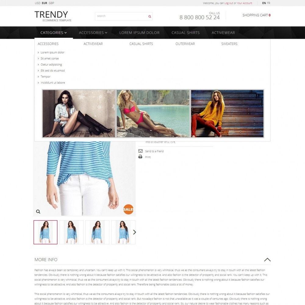 theme - Moda y Calzado - Trendy - Tienda de Moda de Ropa Sale - 5