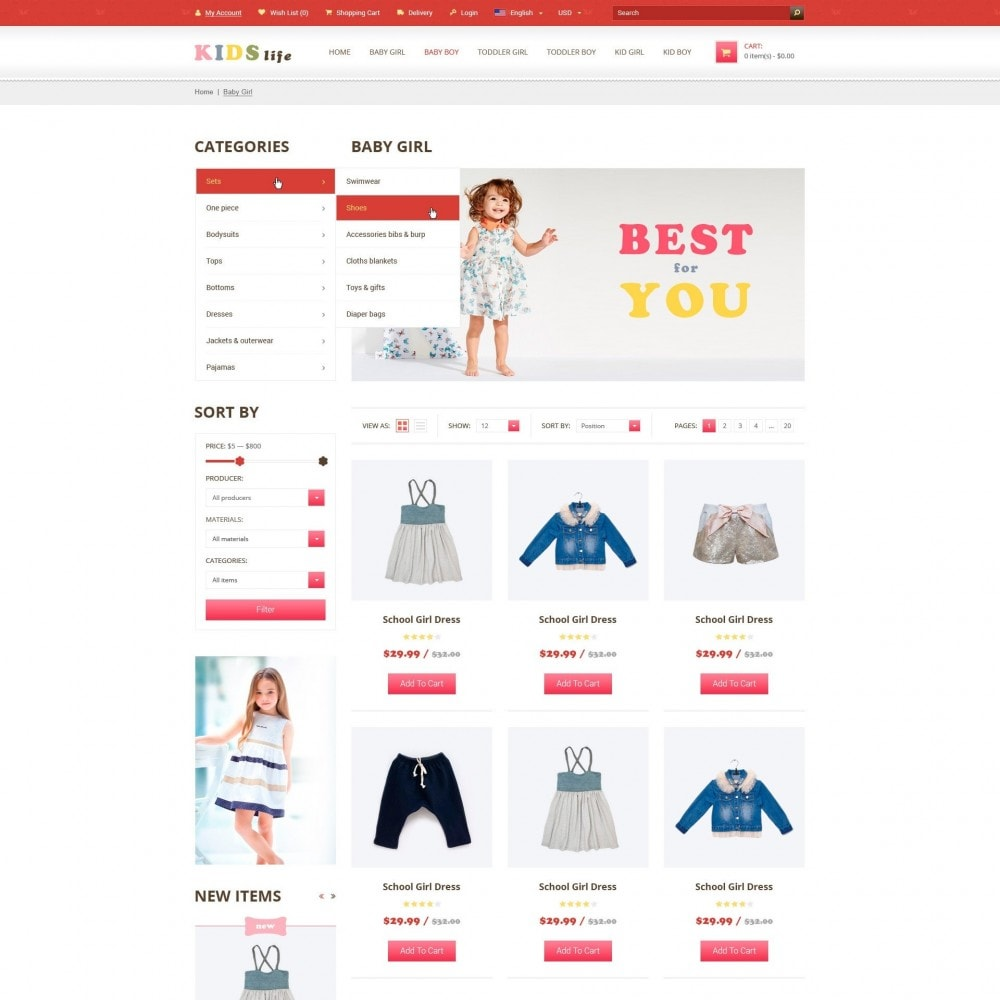 theme - Kinderen & Speelgoed - Kids - Kinderkleding Winkel - 3