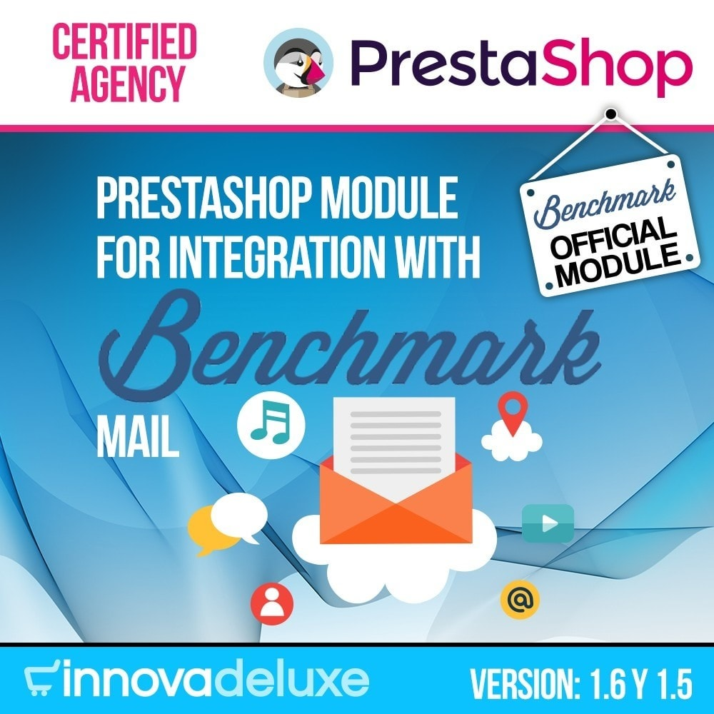 module - Notifications & Automatic Emails - Benchmark Email Marketing Integration - 1