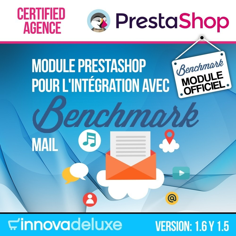 module - E-mails & Notifications - Intégration avec Benchmark Mail Marketing - 1