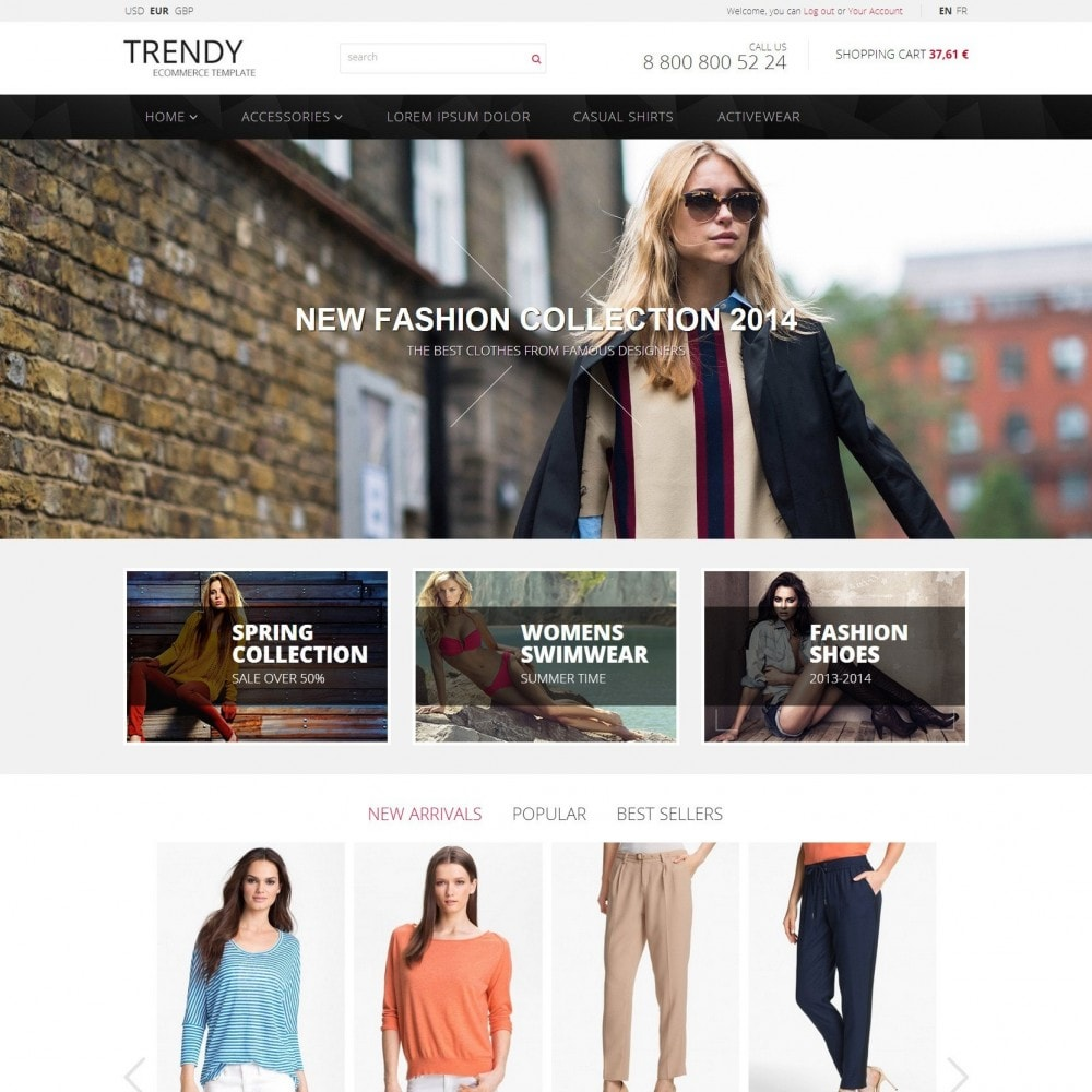 theme - Moda & Obuwie - Trendy - Sklep z Mody Ubrania - 2