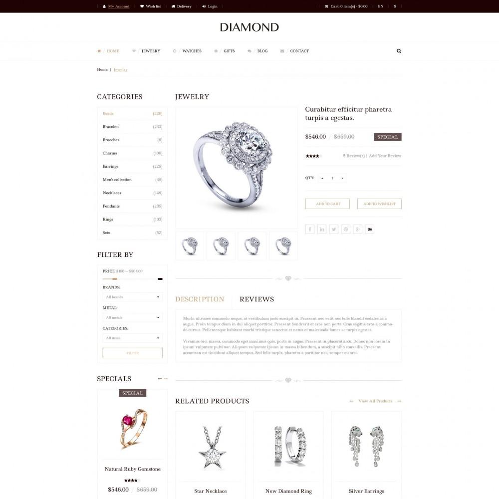 theme - Joyas y Accesorios - Diamante - De Joyería - 4