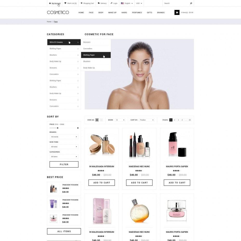 theme - Zdrowie & Uroda - Cosmetico - Kosmetyki Sklep - 2