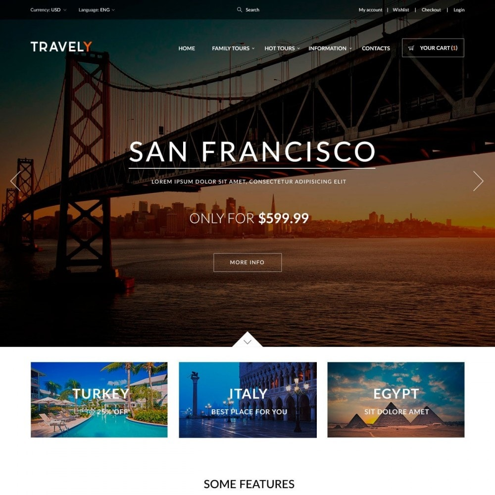theme - Deportes, Actividades y Viajes - Travely - Travel Shop - 2