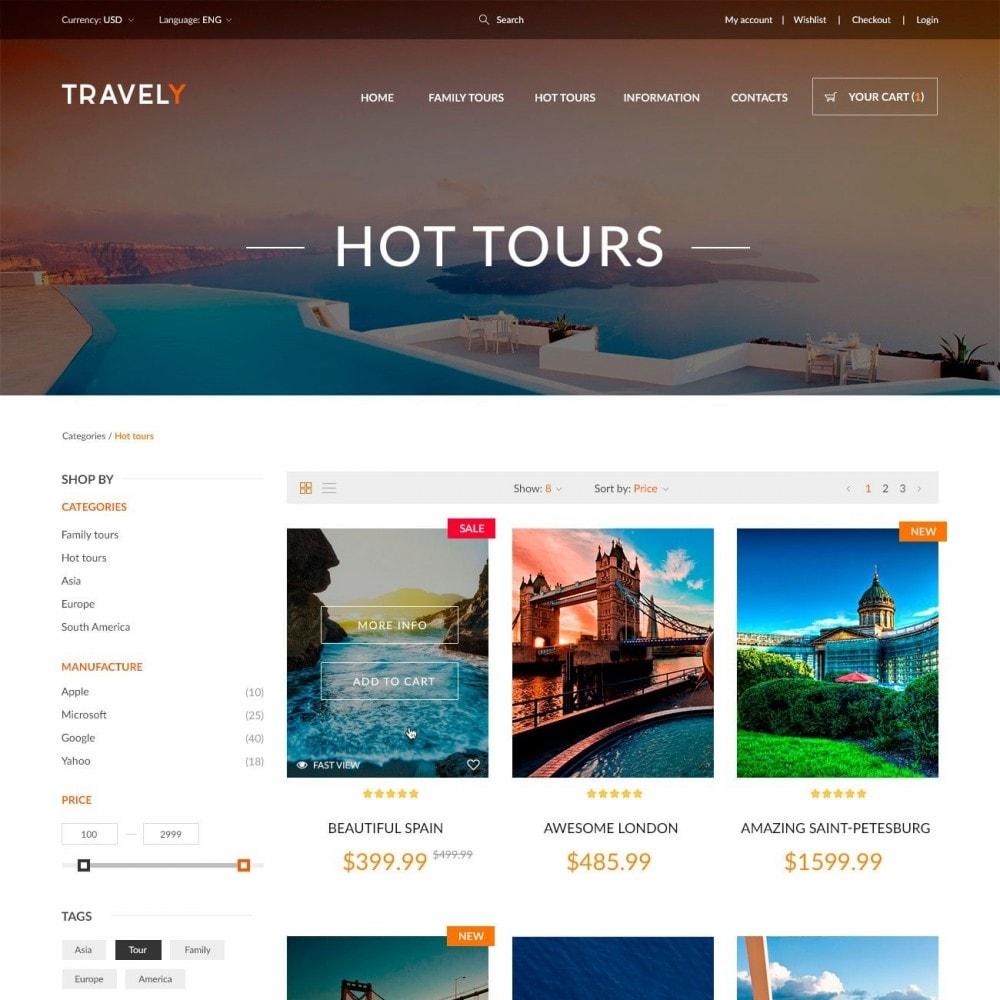 theme - Deportes, Actividades y Viajes - Travely - Tienda de viajes - 3