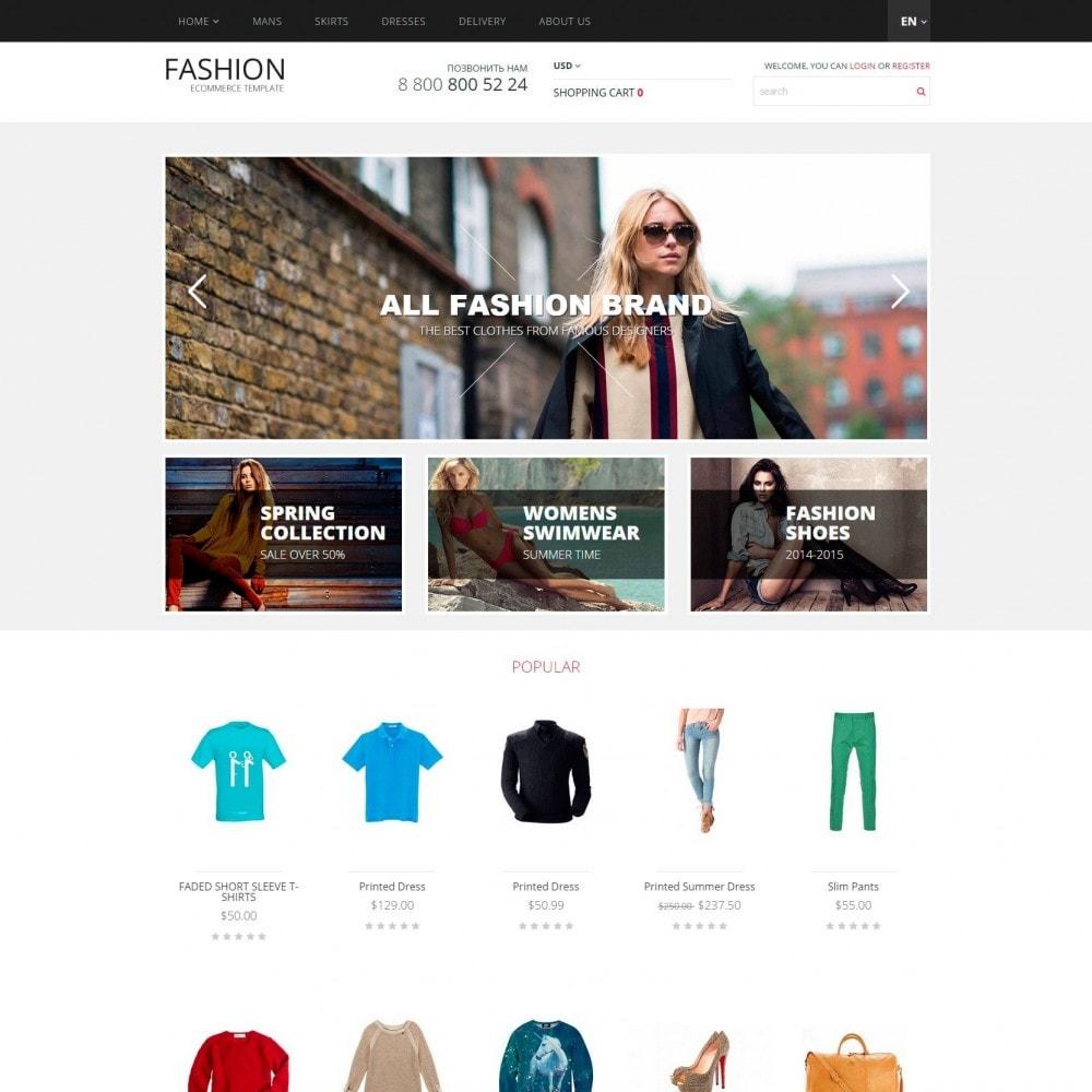 theme - Moda & Calçados - Fashion - Loja de roupa - 2