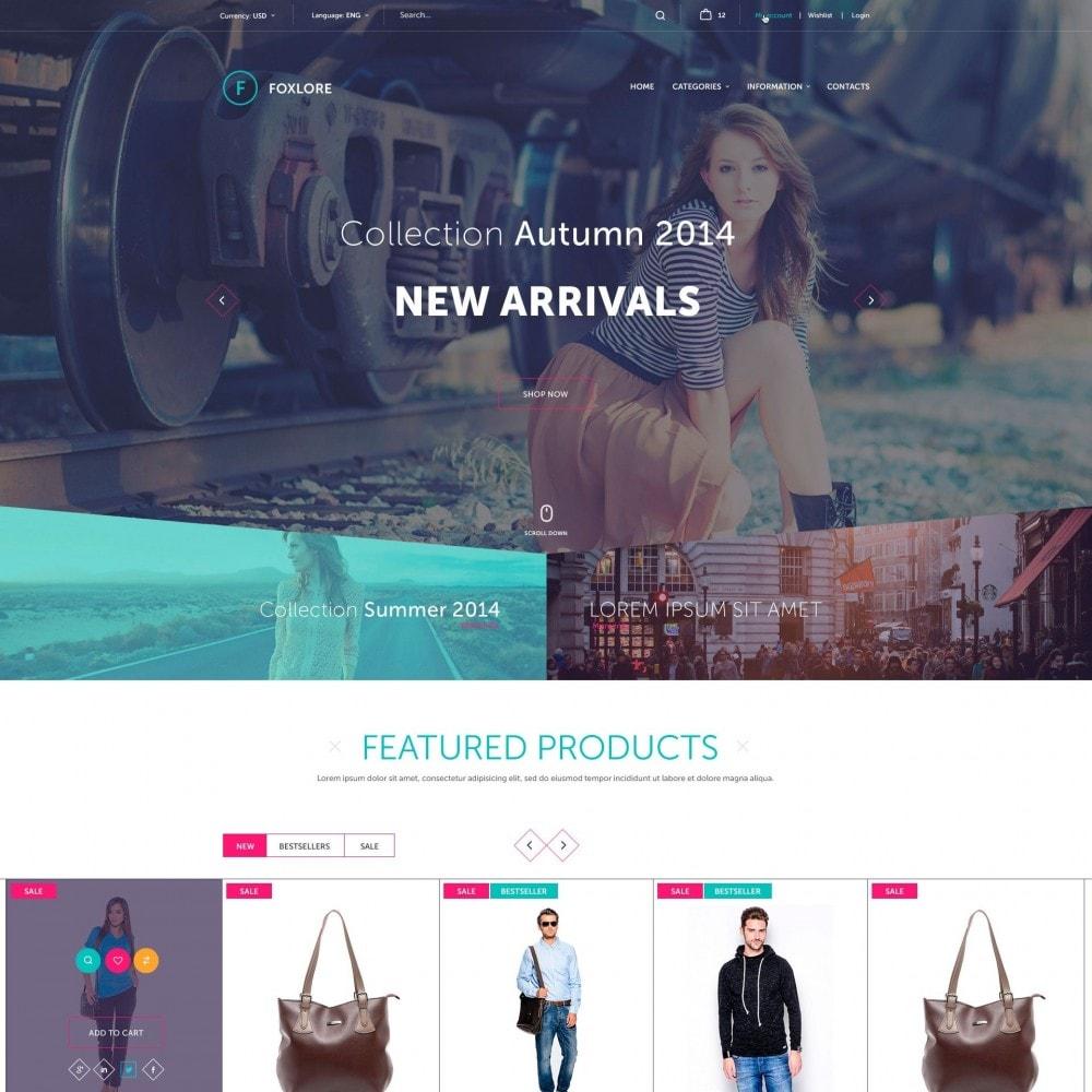 theme - Moda y Calzado - Foxlore - Lujo para una Tienda de ropa - 2