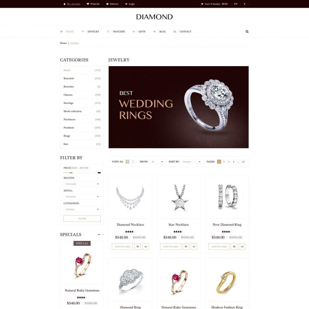 theme - Bellezza & Gioielli - Diamante - Gioielleria - 3