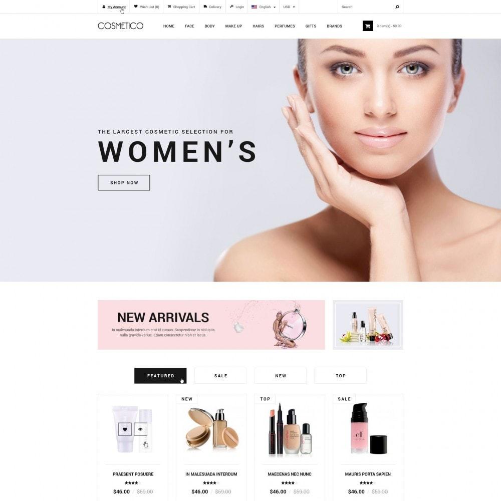 theme - Salute & Bellezza - Cosmetico - Negozio di Cosmetici - 1