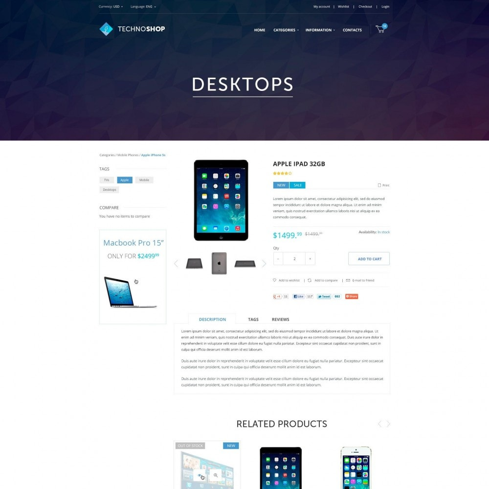 theme - Elettronica & High Tech - Technoshop - Hitech - 4