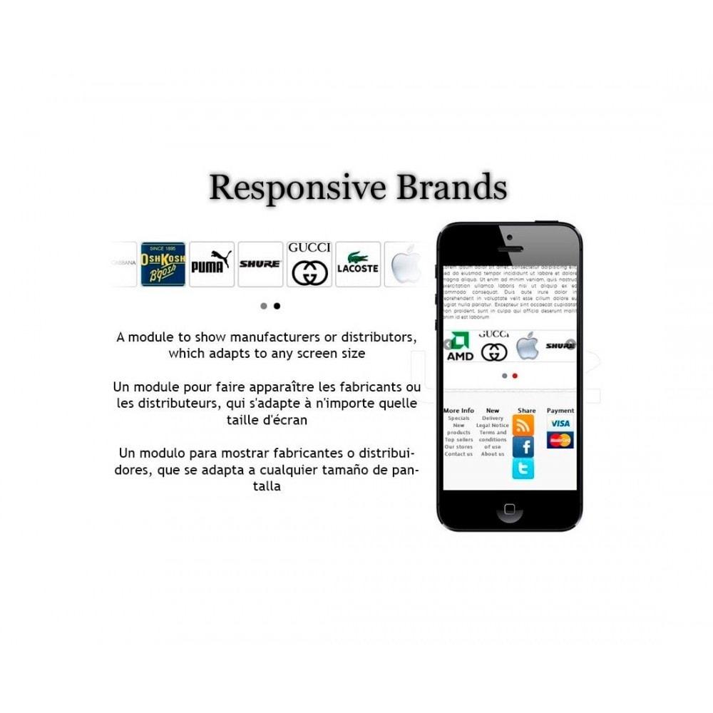 module - Marcas y Fabricantes - Responsive Brands / Suppliers - 1