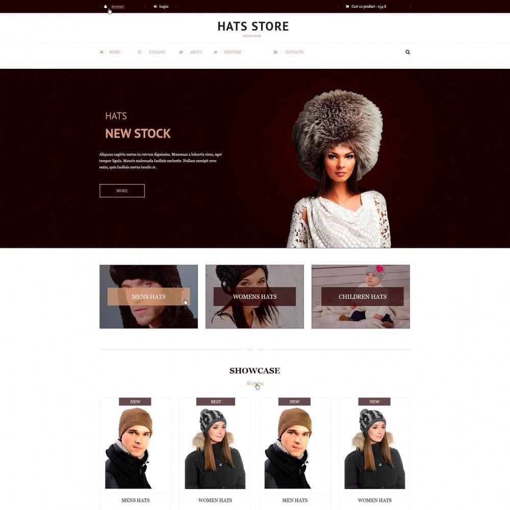 theme - Moda & Calçados - Foxberry - Loja de Chapéus - 2