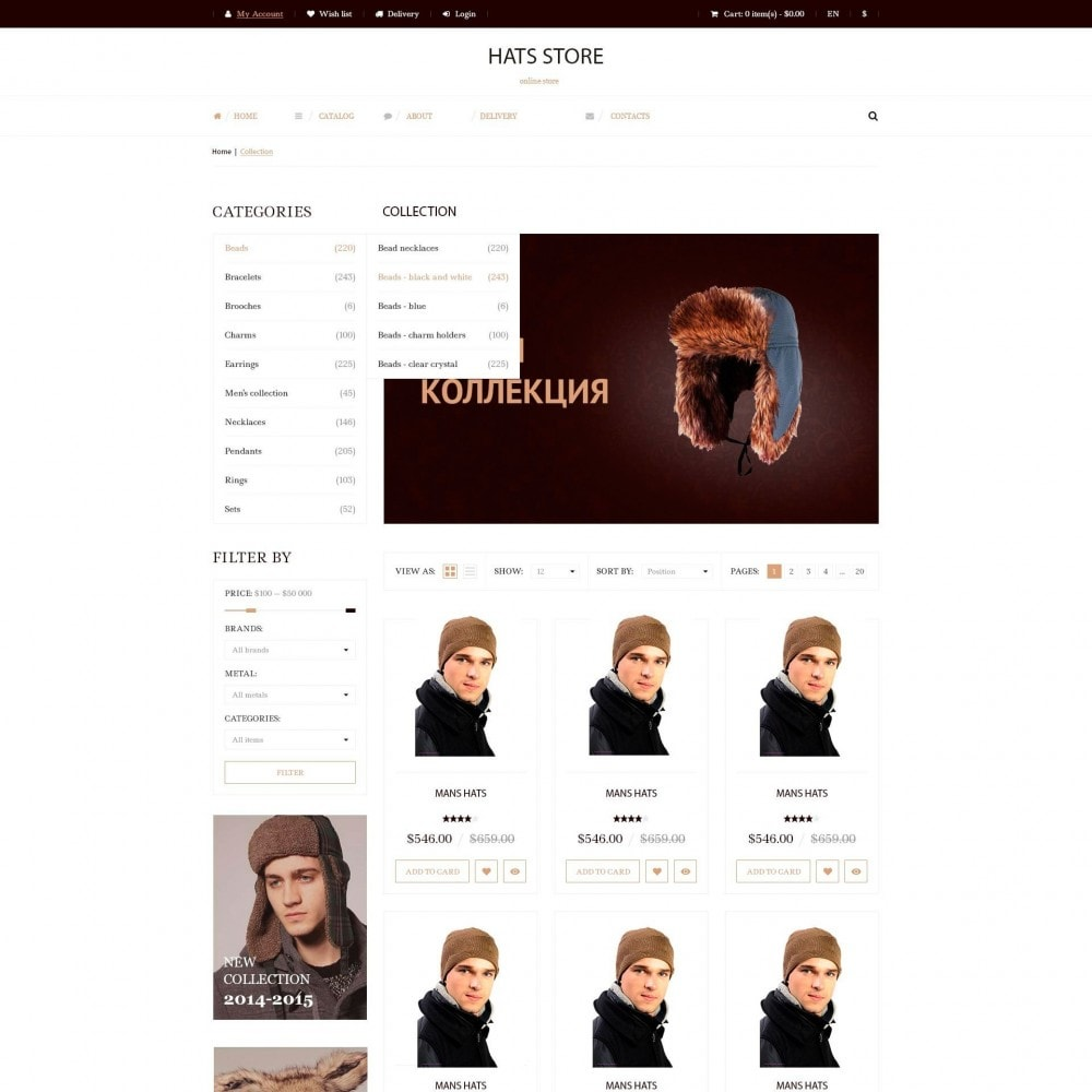 theme - Mode & Schuhe - Foxberry - Hüte Store - 3