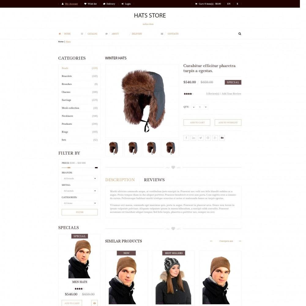 theme - Moda y Calzado - Foxberry - Sombreros Store - 4