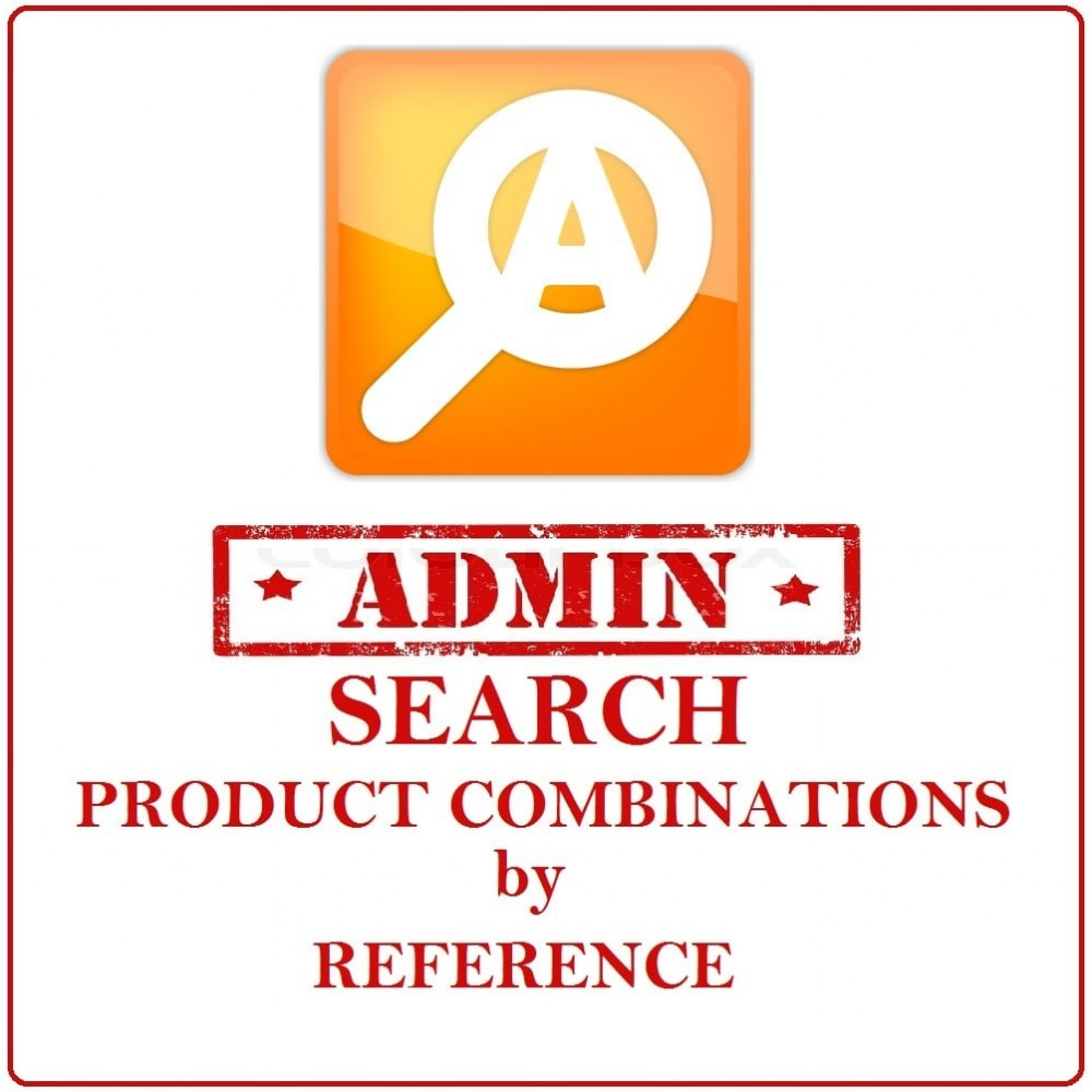 module - Narzędzia administracyjne - Admin Search Product Combinations by Reference - 1