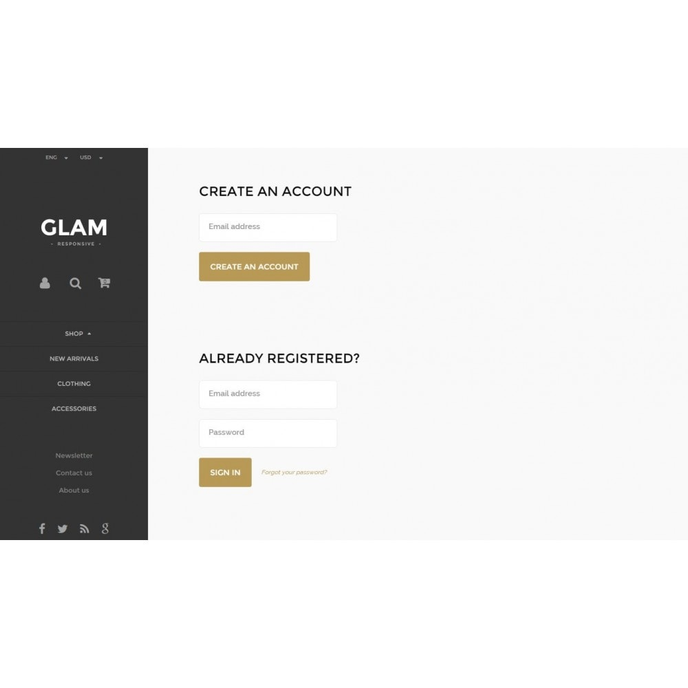 theme - Mode & Schoenen - Glam Prestashop 1.6 Responsive Template - 11