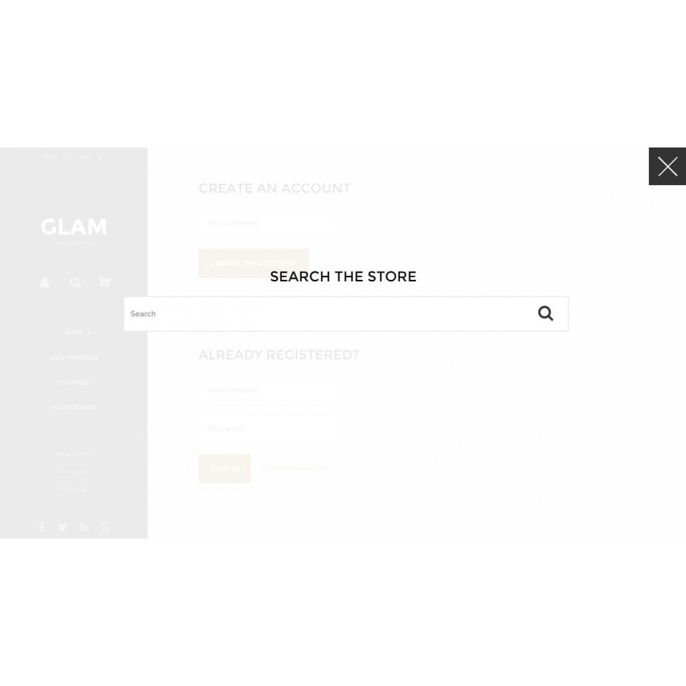 theme - Mode & Schoenen - Glam Prestashop 1.6 Responsive Template - 13