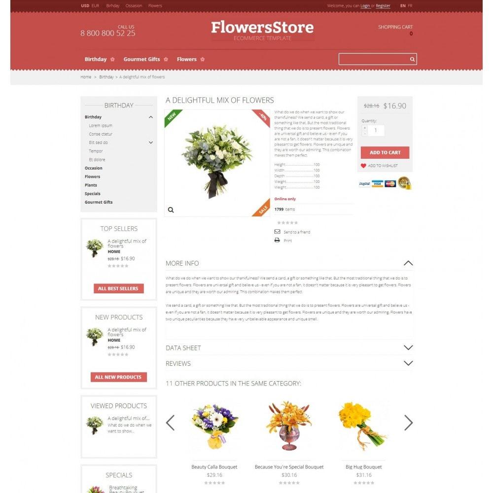 theme - Presentes, Flores & Comemorações - Floweris - Flores loja - 4