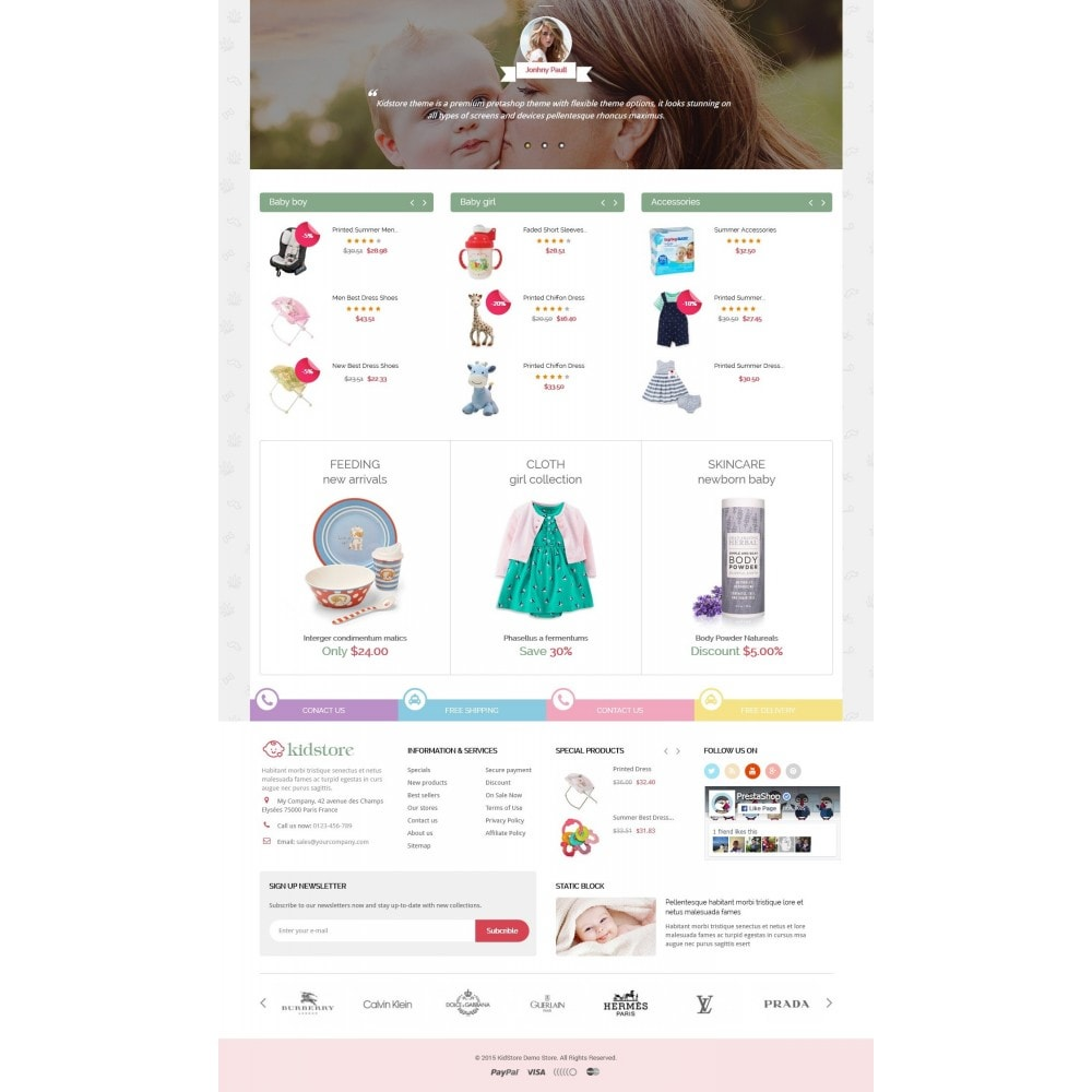 theme - Kids & Toys - Kidstore - Kids & Children Store Responsive PrestaShop - 3