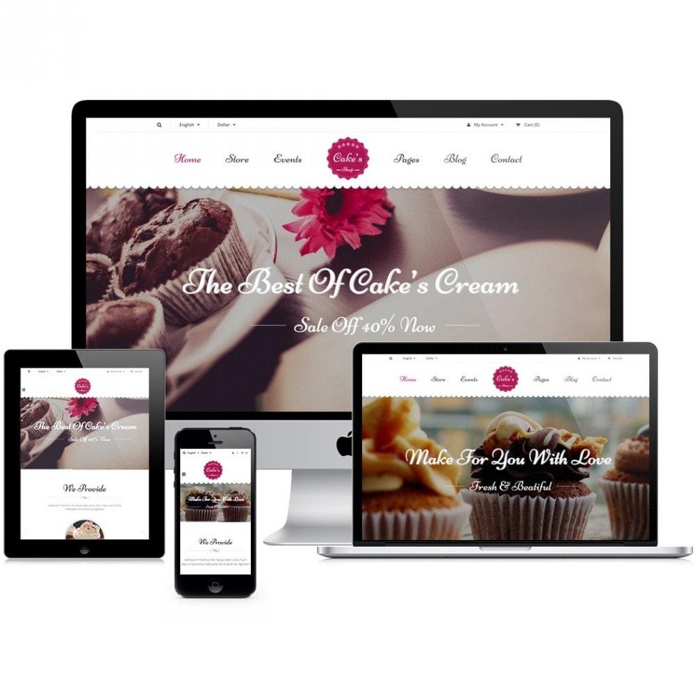 theme - Alimentation & Restauration - JMS Cake - 1