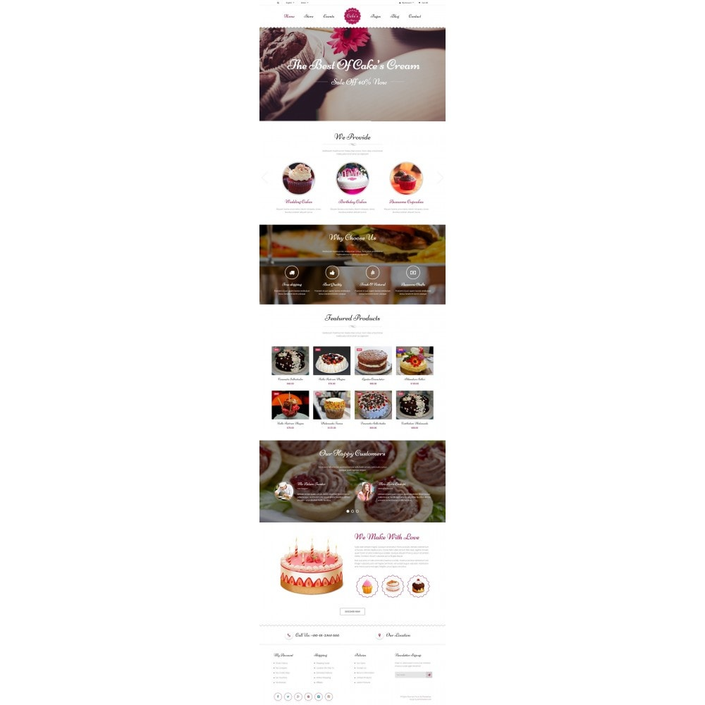theme - Alimentation & Restauration - JMS Cake - 5