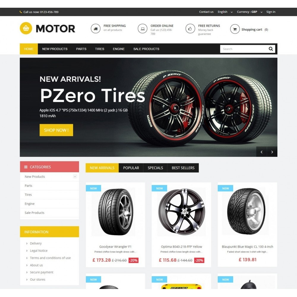 theme - Automotive & Cars - AUTO 1.6 Responsive - 2