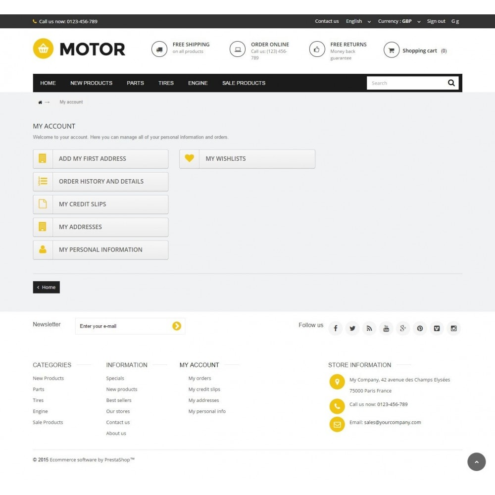 theme - Automotive & Cars - AUTO 1.6 Responsive - 9