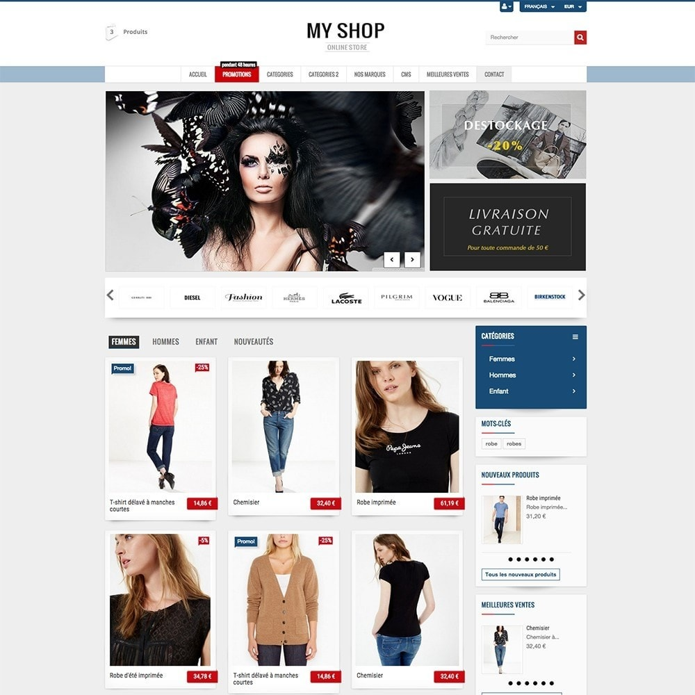 theme - Mode & Schoenen - MY SHOP - 3