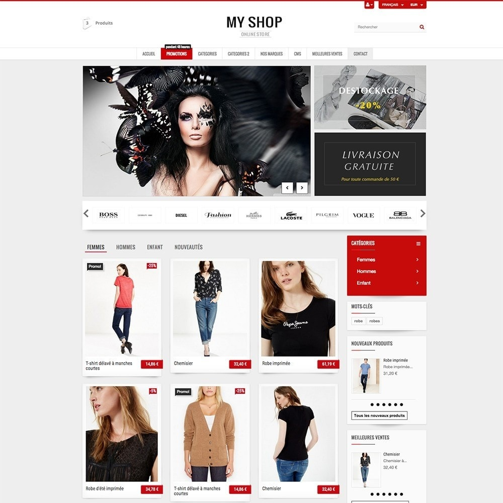 theme - Mode & Schoenen - MY SHOP - 4