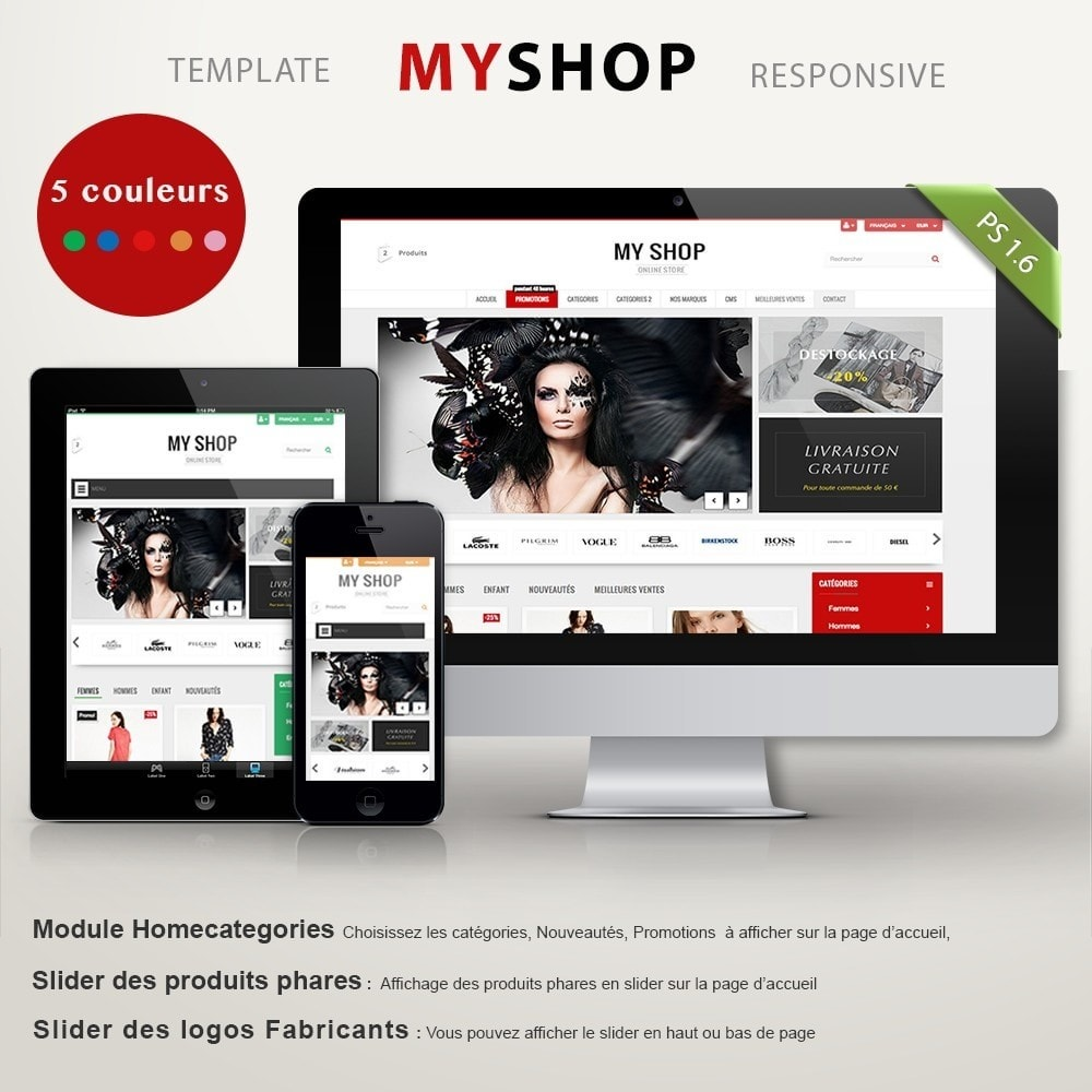 theme - Mode & Chaussures - MY SHOP - 2