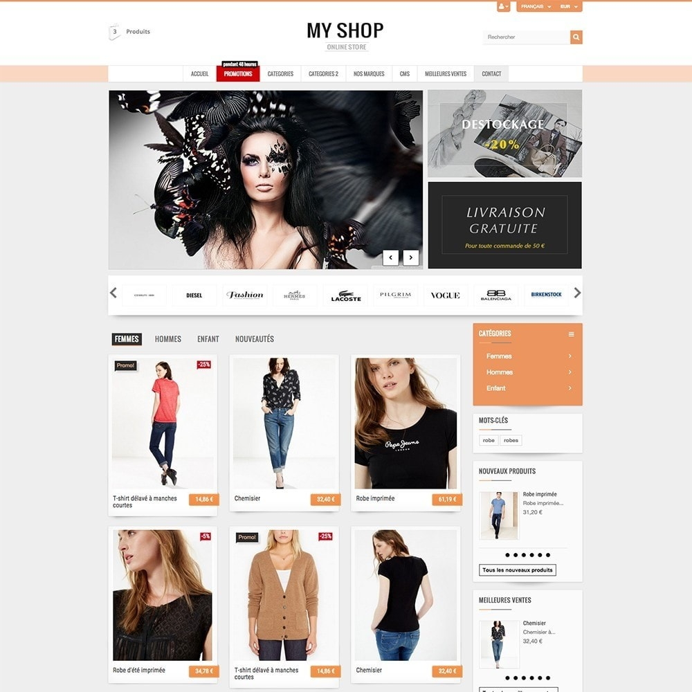 theme - Mode & Chaussures - MY SHOP - 6
