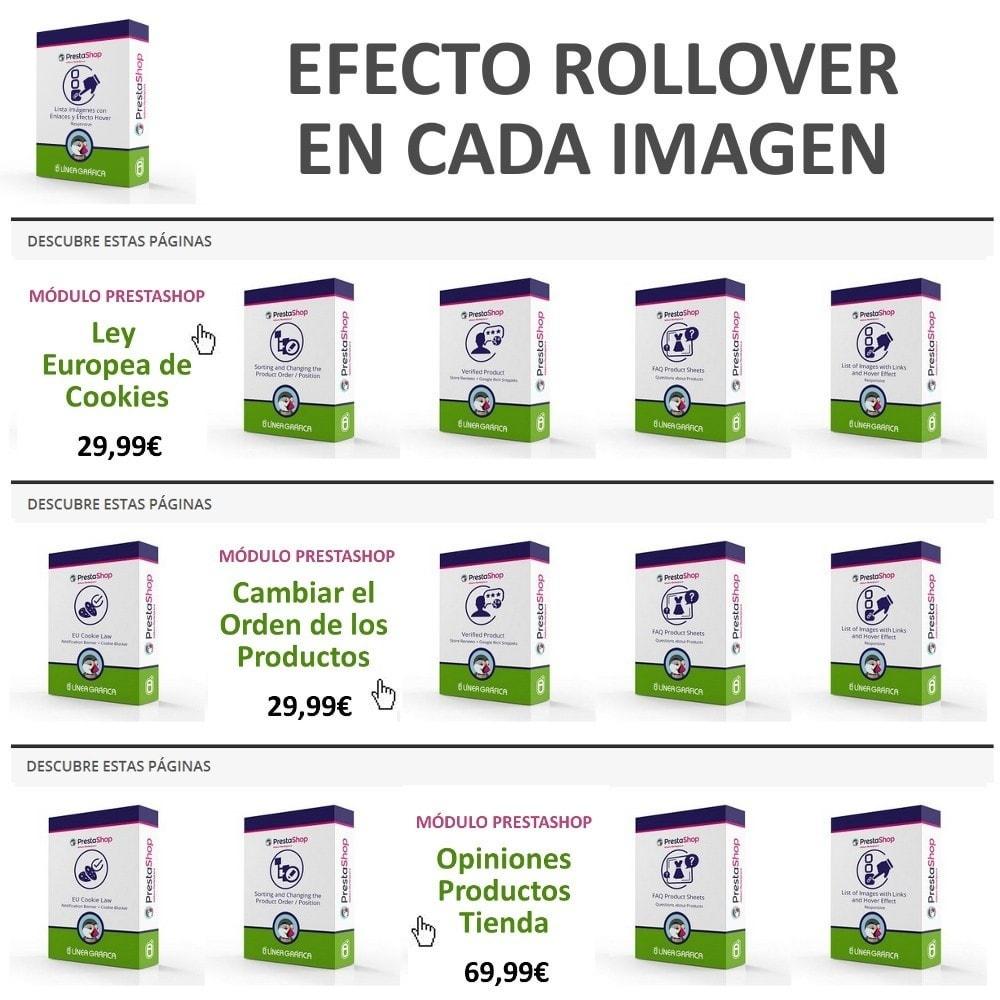 module - Bloques, Pestañas y Banners - Bloque de Imágenes con Efecto Rollover - Responsivo - 4