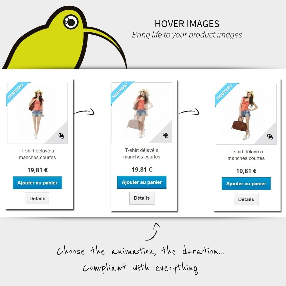 module - Visual Products - Hover Images | Rollover - 1