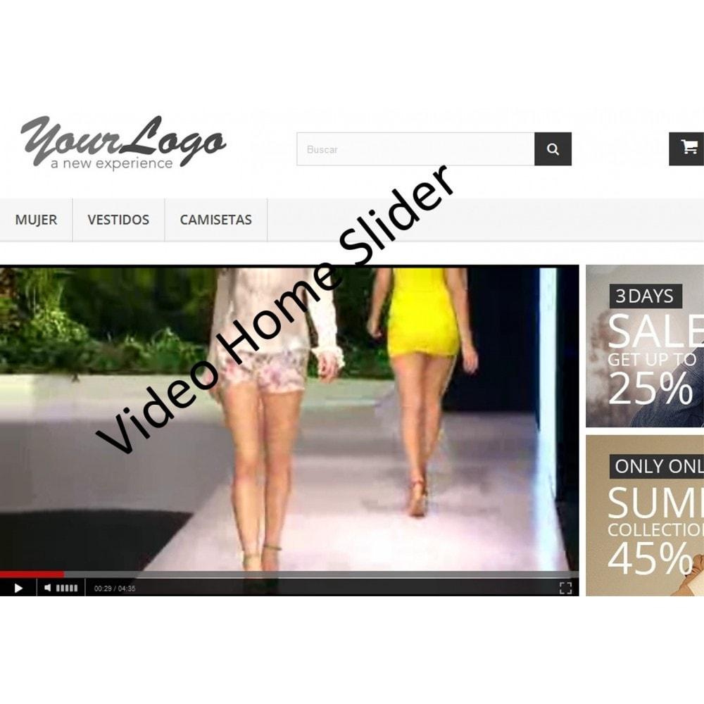 module - Sliders & Galeries - Vidéo Home Slider - 1