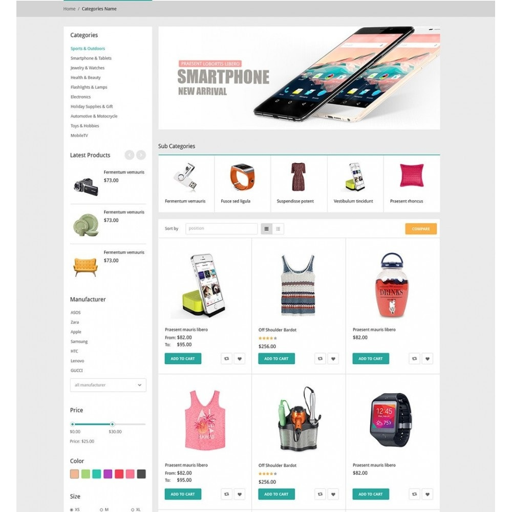 theme - Moda & Obuwie - DealMarket- Fashion Store Responsive PrestaShop Theme - 5